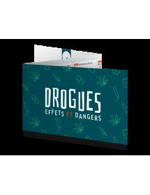 """TOXICA®. """"DROGUES - Effets et Dangers"""". RÉGLETTE DE SENSIBILISATION DROGUES PERSONNALISABLE"""