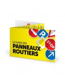 Le Guide des Panneaux Routiers - Réglette 3 volets Panoroute®