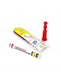 ÉTHYLOTEST - 0.5g/l de sang (Seuil de détection à 0.25mg/l d'air expiré) - avec embout buccal